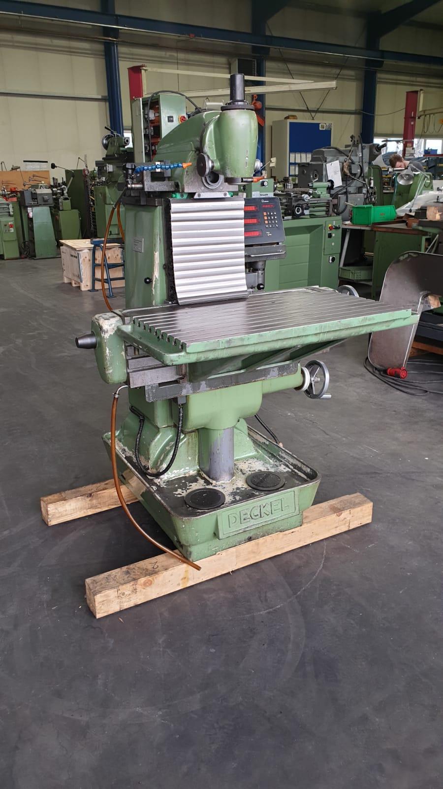 Fräsmaschine: Deckel FP2 (Gebraucht)