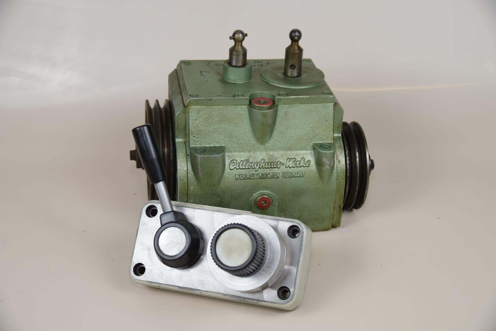 Zubehör: Oertlinghausgetriebe für Weiler Drehmaschinen