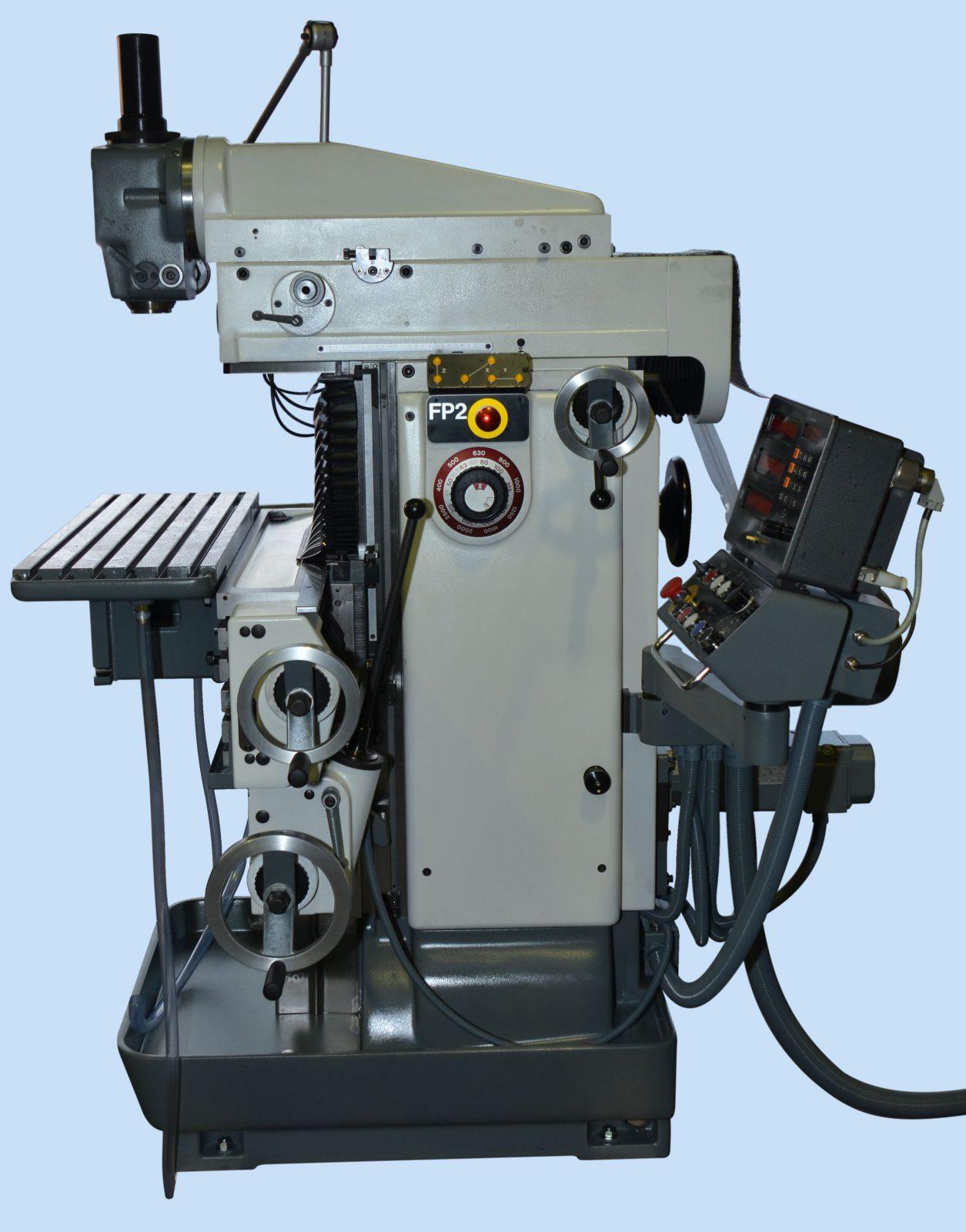 Fräsmaschine: Deckel FP 2 #2202 (Überholt)