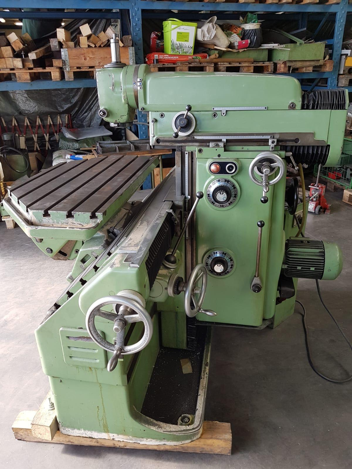 Fräsmaschine: Deckel FP3 L (gebraucht)
