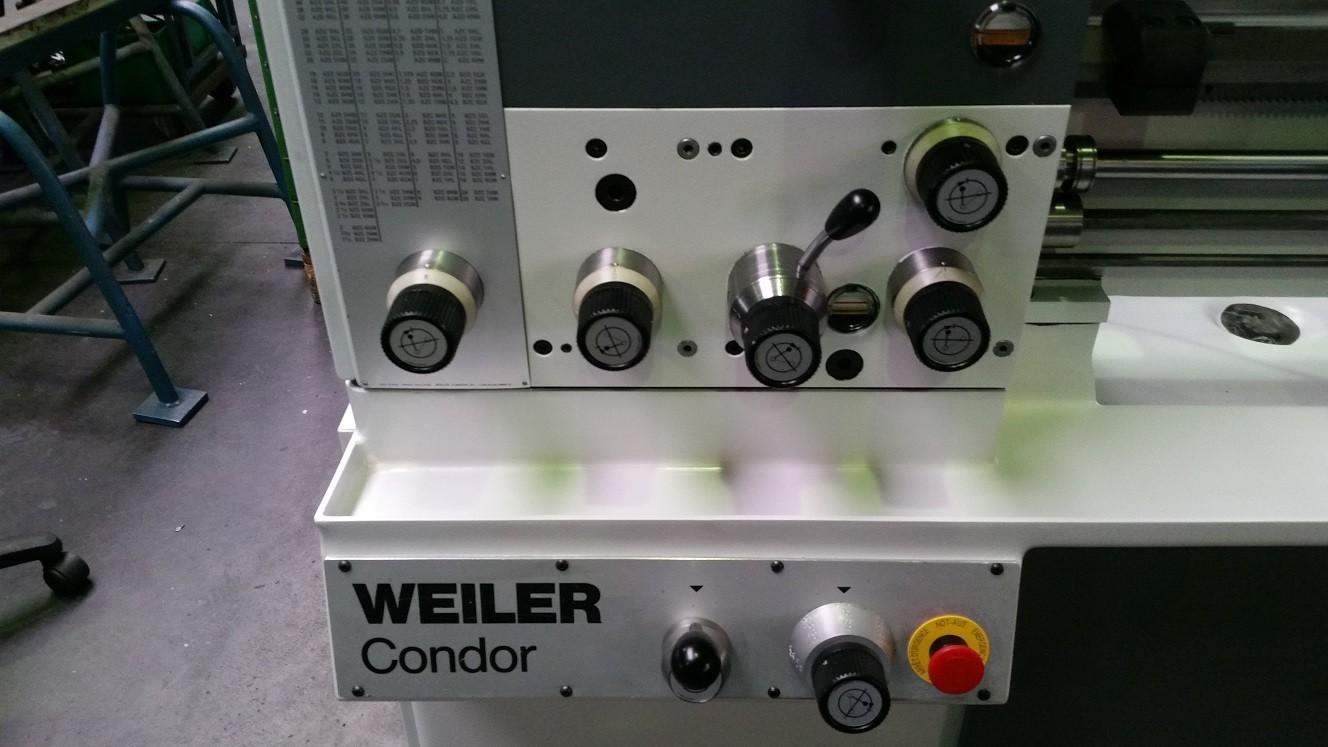 Drehmaschine: Weiler Condor B (überholt)